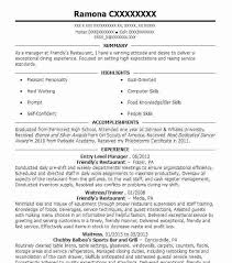 Entry Level Resumes Templates Blockbusterpage Com