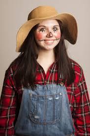 easy scarecrow makeup photo 1