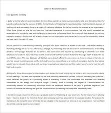 Samples Of Letters Recommendation My Physician Assistant Applicant
