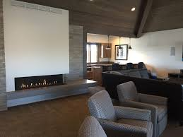 tradewinds general contracting photo with an ortal fireplace