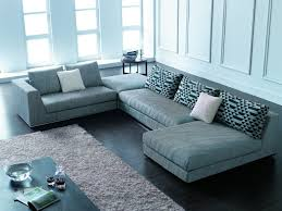 modern sectional couches. Perfect Sectional Small Modern Leather Sectional L Shaped Couch With Recliner And Chaise  Sofa Designs Couches