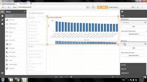 Combo Chart Qlik Sense Qlik Sense Training Qlik Sense Bar And Combo Chart Visualization