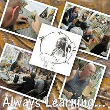 always learning leathercraft classes leather class at standing bear s trading post