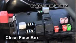 blown fuse check 2008 2016 dodge challenger 2010 dodge 6 replace cover secure the cover and test component