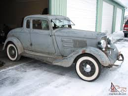 Plymouth PE Deluxe 5 Window Coupe 1932 1933 Dodge DeSoto Hot Rat ...