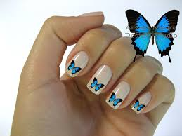 Beautiful Mod Butterfly Nail Art Waterslide by ArwenMooreDesigns ...