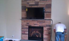 install tv above fireplace pt 1 putting on stone fantastic mounting tile surround living room design decor flat screen uk m l f