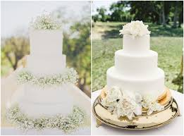 18 Simple White Wedding Cakes Ideas For Your 2019 Wedding Chicwedd