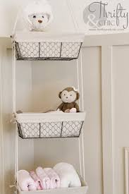 diy wire hanging storage baskets