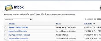 Uva Health System My Chart Mychart Recruitment Messages Ictr