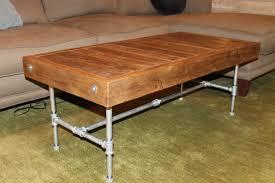industrial wood furniture. Industrial Wood Coffee Table Furniture
