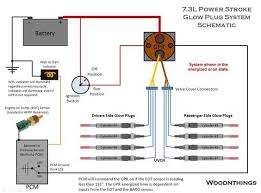 glow plug wiring diagram glow image wiring diagram 2000 7 3 powerstroke glow plug relay wiring diagram jodebal com on glow plug wiring diagram