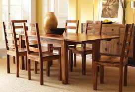Adorable Real Wood Dining Room Sets Best Dining Room Interior Real Solid Oak Dining Room Table