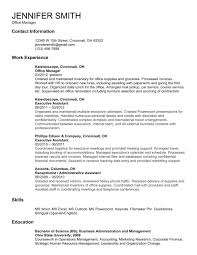 Resume Objective Statement Entry Level Human Resources Resume
