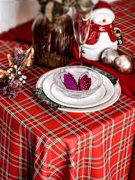 <b>Скатерть 120*145 Bonita</b>, Рождественская клетка 120*145 ...