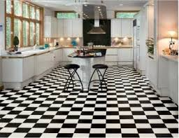 ... black and white checkerboard floor