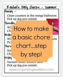 Chore Charts On Pinterest Didyoudoyourchores Chore