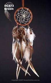 Dream Catchers Inc Natural dream catcher with hackle and pheasant feathers 82