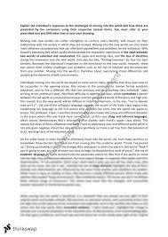 examples toefl essay many words