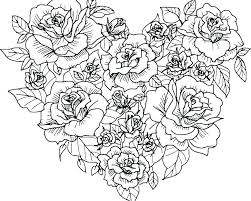 Innovative Pretty Flowers Coloring Pages Preschool For Snazzy