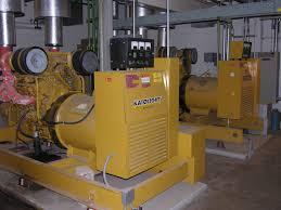 Generator Set Engaged in Thermodynamics