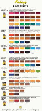 suede colour chart