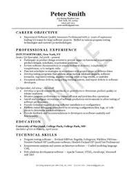 quality assurance resume example quality assurance resume example