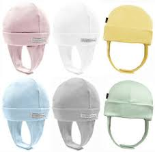 Details About Kushies 100 Cotton Interlock Baby Boys Or Girls Cap Hat With Ear Flap 533524