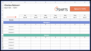 Monthly Schedule Excel Template Schedule Plate Microsoft Excel Employee Monthly Weekly Template