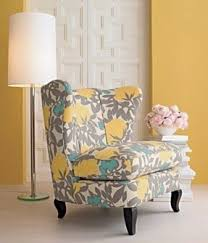 fabric accent chair 2 patterned chairs5