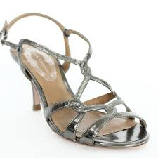 Elie Tahari Strappy Heels Sz 36 Leather Sandals