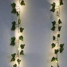 12pcs artificial plants led leaf