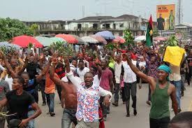 Image result for Nigerians divided over proscription of IPOB