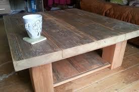oak sleeper coffee tables design ideas 800 530