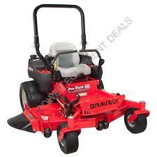gravely zero turn mower gravely pro turn 460 60 31hp kawasaki zero turn mower pt460 arn 992235