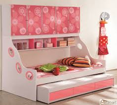 Pink girl kids beds with storage Children Beds with Storage Show You Many  Functions, Benefits