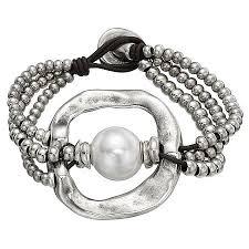 A Pearl of Wisdom Bracelet | Ювелирные <b>браслеты</b>, Серебряные ...