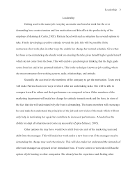 good leadership essay to be a good leader essay 1372 words bartleby