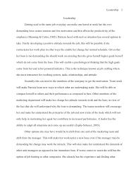 good leadership essay to be a good leader essay 1372 words bartleby