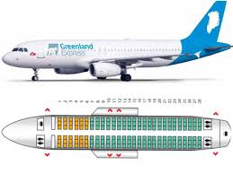 Frontier Airlines Seating Chart Airbus A320 Greenland Express Is Planning To Resume Operations In May