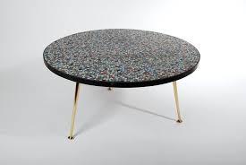 mosaic coffee table round mosaic coffee table flux vintage next mosaic mirror coffee table