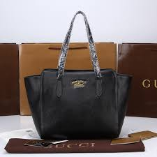 gucci bags outlet. 2014 gucci swing leather tote black bags outlet