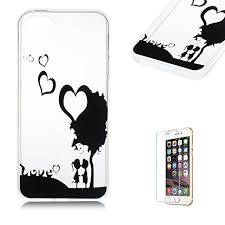 Cover Per Iphone 5 5s Se Silicone Custodia Morbido Originale