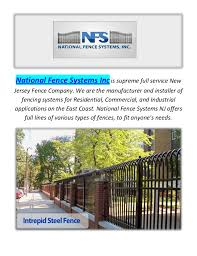 national fence systems incis supreme full service new jersey company national fence nj i10