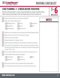 Printable Office Moving Checklist Download Them Or Print