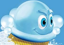 Image result for scrubbing bubbles