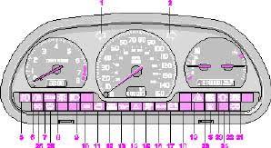 2001 volvo s40 & v 40 Volvo S40 Fuse Box instruments, switches and controls volvo s40 fuse box diagram