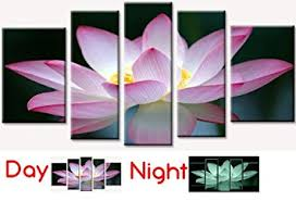 startonight canvas wall art pink flower pink usa design for home decor dual view on canvas wall art pink flowers with startonight canvas wall art pink flower pink usa design for home