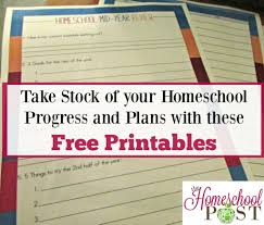 homeschool mid year review printable review pages the printable homeschool review pages planning pages track homeschool progress