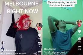 Possible coronavirus case under investigation in victoria; Victorians Make Tiktoks To Vent About New Covid 19 Lockdown